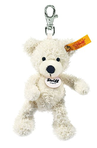 Steiff Keyring Lotte Teddy Bear White from Steiff