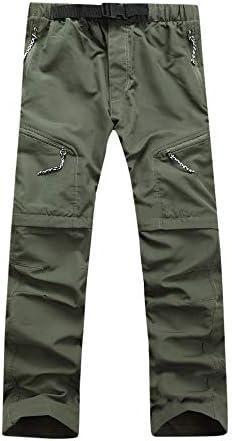 LuckyGirls Pantalones Cargo para Hombre Secado Rapido Desmontable ...