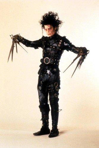Johnny Depp Poster Edward Scissorhands