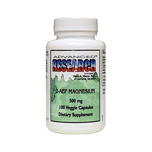 NCI Advanced Research Dr. Hans Nieper 2aep Magnesium Capsules, 500 Mg, 100 Count (Magnesium 2aep)