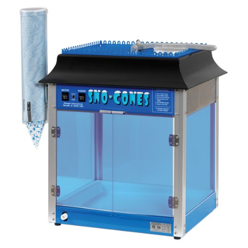 Paragon 1911 Sno Cone Machine for Professional Concessionaires Requiring Commercial Heavy Duty Snow Cone Equipment 1/3 Horse Power 792 (Paragon Sno Cone Machine)
