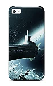 Hot Submarine Like Spaceship First Grade Tpu Phone Case For Iphone 5c Case Cover