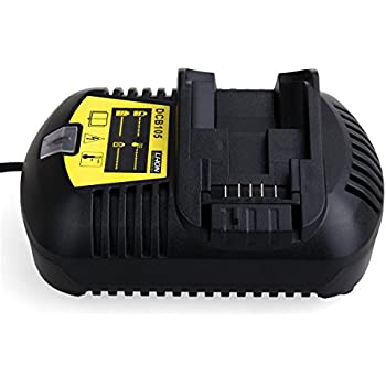 FLAGPOWER Li-Ion Battery Charger 12V MAX and 20V MAX for Dewalt DCB101