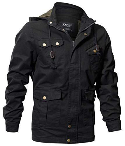 Sport De Chaquetas Piloto SG Bomber Sweat Size Chaqueta Jacket Multi Classic Schwarz Pocket Algodón Chic Moda Ntel 1 Jacket Otoño Color Hombre Jacket Hombres gYqw8PTY