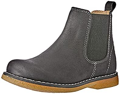Clarks Boys Chelsea INF Shoes, Black, 5 AU