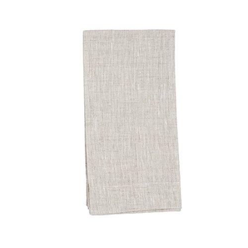 Undyed Linen - Huddleson Natural Undyed Flax Color Pure Linen Napkin 20x20 (Set of Four)