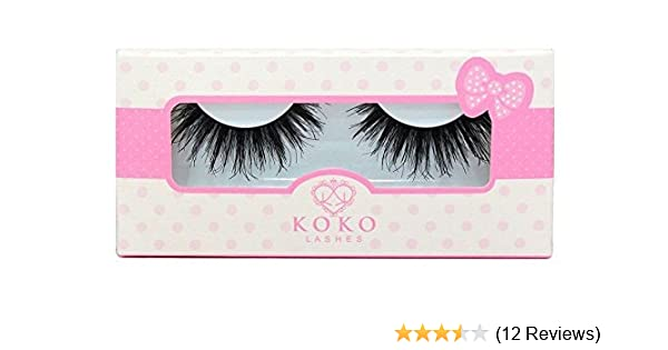 497a763ad47 Amazon.com: KoKo Lashes QUEEN B Wispy Glamour Fake Eyelashes (New  Original): Health & Personal Care