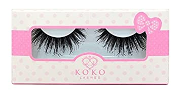 3b1e6339f25 Amazon.com: KoKo Lashes QUEEN B Wispy Glamour Fake Eyelashes (New ...