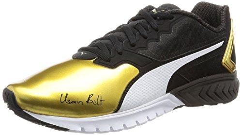 Bullone nero Puma Esecuzione Oro Eu 46 Mixte Doppio Noir Accendere Adulte In qEwE4Uyf