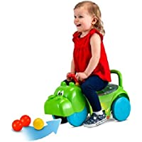 Kid Trax Hasbro Hungry Hippos 3-In-1 Scoot & Ride On Toy