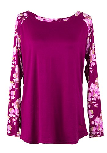 - Hello Mello Trendy Womens Loungewear Tops, Long Sleeve with Tote Bag (L/XL, Cherry Blossom)