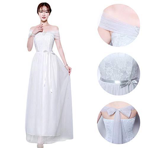 dd0b45b63808 1 Festa Sera Vestito Da Dazisen D onore 5 Nozze Bianco Abito Disponibili  DonnaLunghi Stili Damigella Elegante Per ulkPZiwOXT