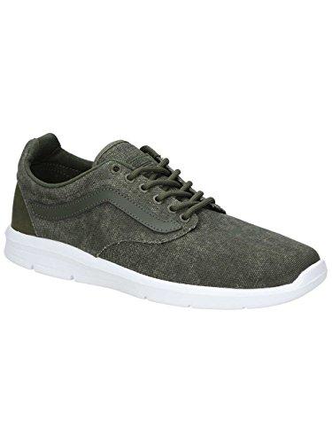Vans Mens Iso 1.5 (C&L) Skate Shoes Grape Leaf/True White 42IJUs