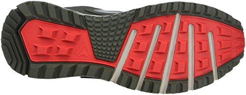 Reebok Herren Sawcut 5.0 GTX Walkingschuhe Grau (Ironstone/Sand Stone/Black/Dayglow Red)