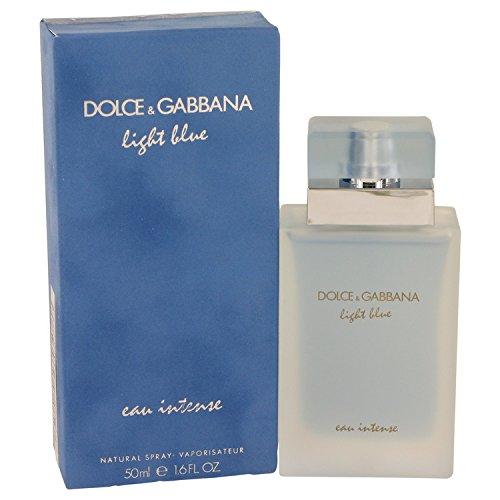 Gabbana Body Cream (Dolcé & Gabbàna Lïght Blúe Eàu Inténse Perfúme For Women 1.6 oz Eau De Parfum Spray + a FREE 6.7 oz Hand & Body Cream)