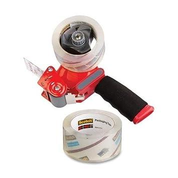 mmm38502st - Scotch Super fuerza cinta de embalaje con dispensador de mano: Amazon.es: Oficina y papelería