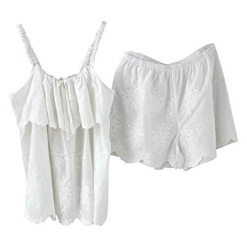 Color Di Pigiama Per Bianco Dolci Casa In Bambina Da Mmllse Photo Pantaloncini Set Pizzo qOY8xT6