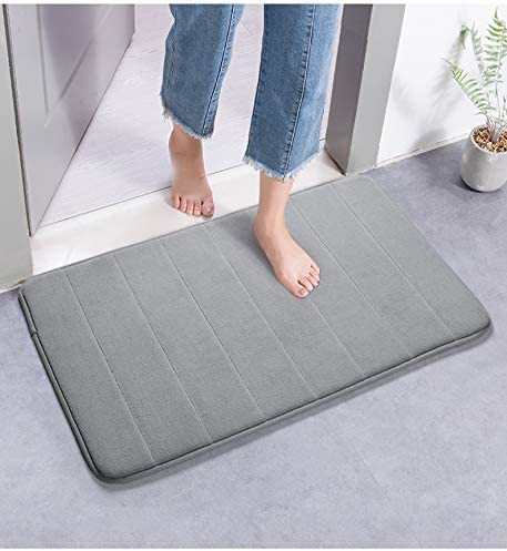 Amazon.com: Memory Foam Bath Mat Large Size 31.5 by 19.8 Inches