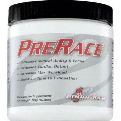 First Endurance Innovative Racing Nutrients PreRace - 98g Canister 20 Servings from 1st Endurance