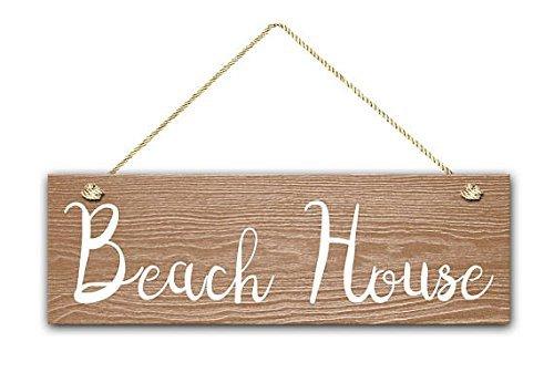 Casa de playa signo, 5.5 & quotx17 & quot Letrero De Madera ...