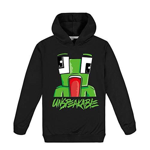 Kinderen Unspeakable Hoodie, Hoody Grappige YouTube Gamer Lange T-shirt for jongens en meisjes Tees Tops Hoodies…