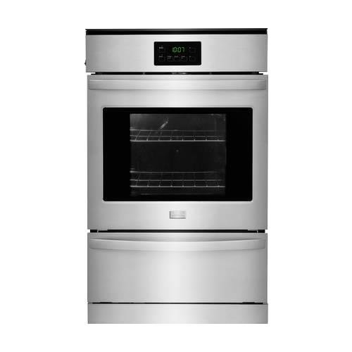 """Frigidaire FFGW2415QS 24"""" Single Gas Wall Oven with 3.3 cu. ft. Capacity Dual Radiant Baking and Roasting Vari-Broil Temperature Control and Ready-Select Controls in Stainless"""