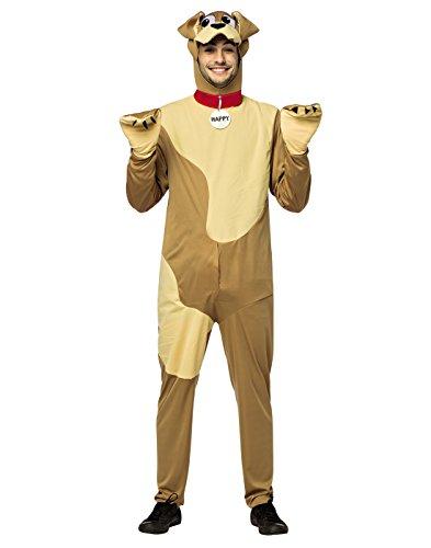 Happy Dog Costume Adult Standard