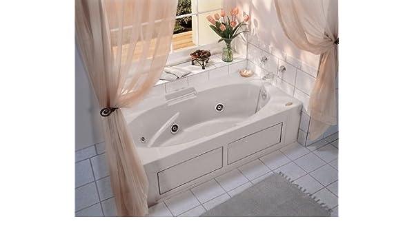Jacuzzi Whirlpool Bath Jacuzzi.Jacuzzi H535959 Nova 636 Whirlpool Bath With Integral Skirt