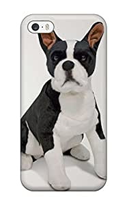 Fashion pc Case For Iphone 5/5s- Boston Terrier Dog Defender Case Cover