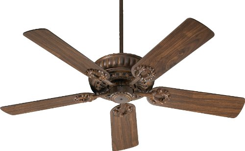 35525-88 Empress 5-Blade Energy Star Ceiling Fan with Reversible Blades, 52-Inch, Corsican Gold Finish - Gold Finish Ceiling Fans