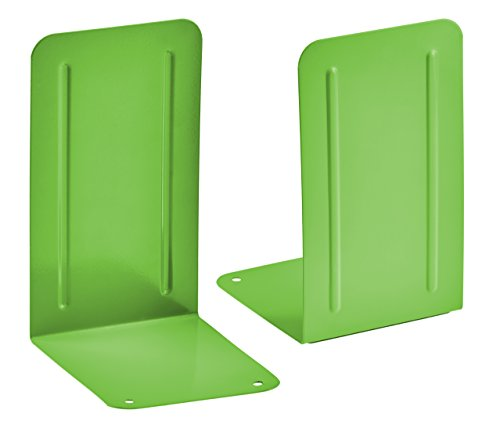 Acrimet Bookends Premium (Green Citrus) (1 Pair - Bookends Green