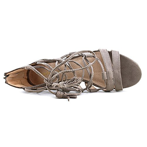 Madden Girl Womens Loverrr Open Toe Casual Strappy Sandals Dark Taupe LfAsEch