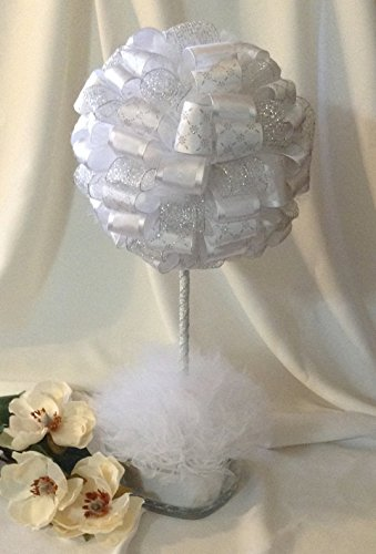 Wedding Centerpiece - Wedding Topiary - Wedding Shower Topiary - Topiary - Wedding Decoration - (Topiary Wedding)