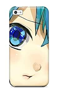 New Arrival Iphone 5c Case Anime Miku Vocaloid Drawing Face Case Cover