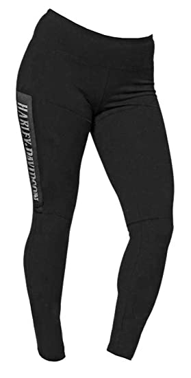 63ff764971 Harley-Davidson Women's Embellished H-D Script Mesh Patch Leggings, Black
