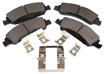 Pads Original Equipment Replacement - ACDelco 171-0975 GM Original Equipment Front Disc Brake Pad Kit with Brake Pads and Clips