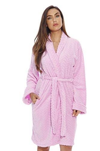 6312-Lilac-1X Just Love Kimono Robe / Bath Robes for Women (Womens Plus Size Robes)