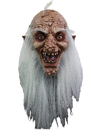 Old Gutter Boils Scary Mask -