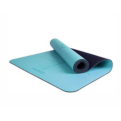 YJDZXM GRJH® Tapis de yoga, débutant en caoutchouc naturel Tapis de remise en forme Non-slip Tapis de yoga insipide profession Tapis de sport Confort, protection de l'environnement