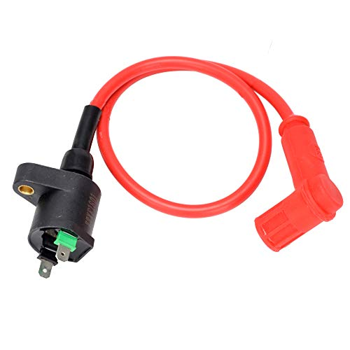 (HIAORS Racing Ignition Coil For GY6 150cc-250cc Engines Chinese Moped Scooter Taotao Roketa Baja Redcat Sunl Go Karts ATV Quad Motorcycle)