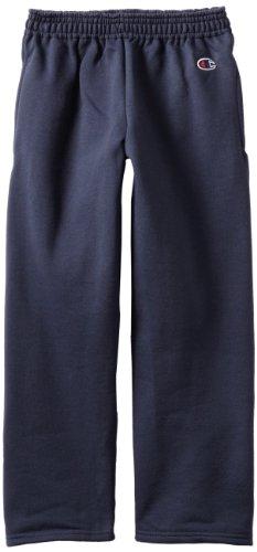 Champion Double Dry Side Pockets Eco Open Bottom Sweatpants Big Kids