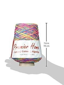 Premier Yarns 1032-01 Home Cotton Yarn - Multi Cone-Rainbow