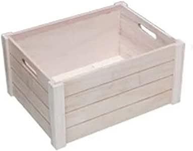 Caja de Almacenamiento de CD Cajón Registro de Almacenamiento con Capacidad for 50 álbumes apilable Natural LP Vinilo Albumes de Almacenamiento Estanterías para CDs: Amazon.es: Hogar