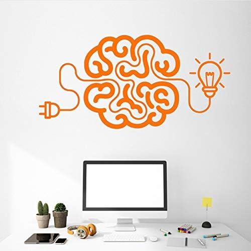 AIPIOR Creativo de Dibujos Animados Cerebro Bombilla Idea Naranja ...