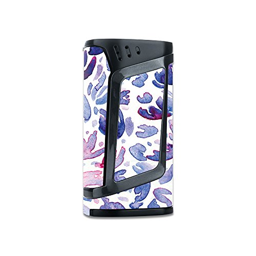 Skin For Smok Alien 220W TC – Blue Petals | MightySkins Protective, Durable, and Unique Vinyl Decal wrap cover | Easy To Apply, Remove, and Change Styles | Made in the USA