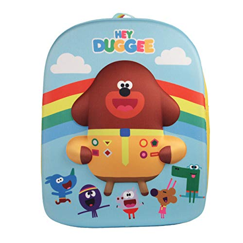 Cbeebies Hey Duggee Rainbow EVA 3D Multicolour Children's Backpack