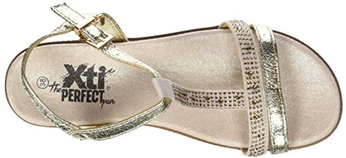 Bride Xti Sandales Cheville Femme Gold Or 47663 EPPqf4a