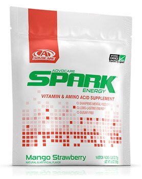 Advocare Mango Strawberry Spark sticks packs