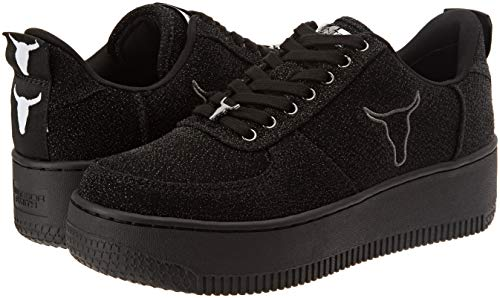 Windsor Femme Chaussures 001 Smith Gymnastique black Racerr Noir De wCAOqSxw