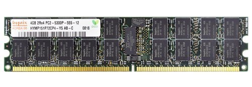 Registered 667 Memory Kit (32GB Kit (8 X 4GB) 2RX4 PC2-5300P DDR2-667 ECC Registered Memory Ram)